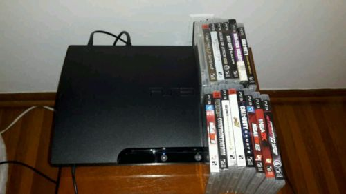 ps3 console with games