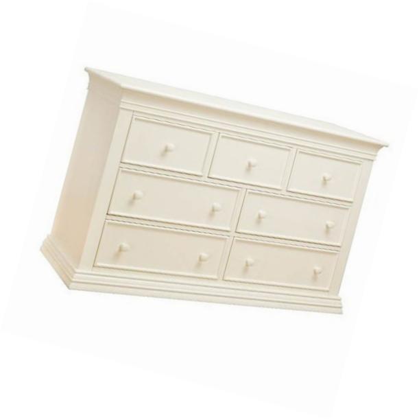 Sorelle 7 Drawer Dresser - French White