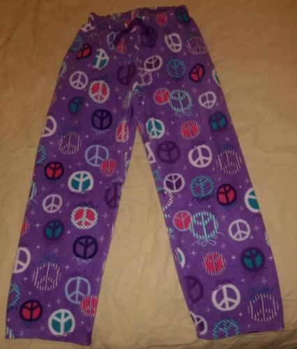 The Children's Place Girl's Size M 7/8 Peace PJ Pants