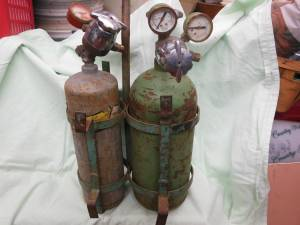 antique gas welding