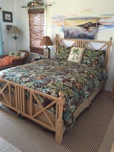 Drexel Heritage Queen Bed (Duck, NC)