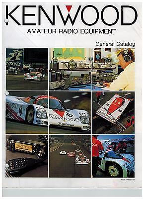 1989 KENWOOD FULL LINE CATALOG TS-940S  TS-440S TS-140S TS-680S R-5000 R-2000