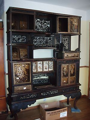 Antique japanese samari wardrobe,