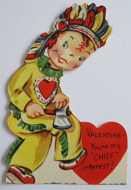 Mechanical Vintage Valentine, Chief