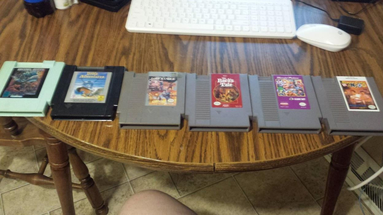 Nes gamelot rare and vintage games