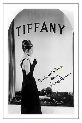 4x6 SIGNED AUTOGRAPH PHOTO PRINT OF AUDREY HEPBURN BREAKFAST AT TIFFANY'S #42