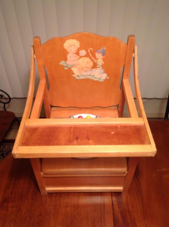 Vintage Toy Potty : Potty chair with tray for sale classifieds
