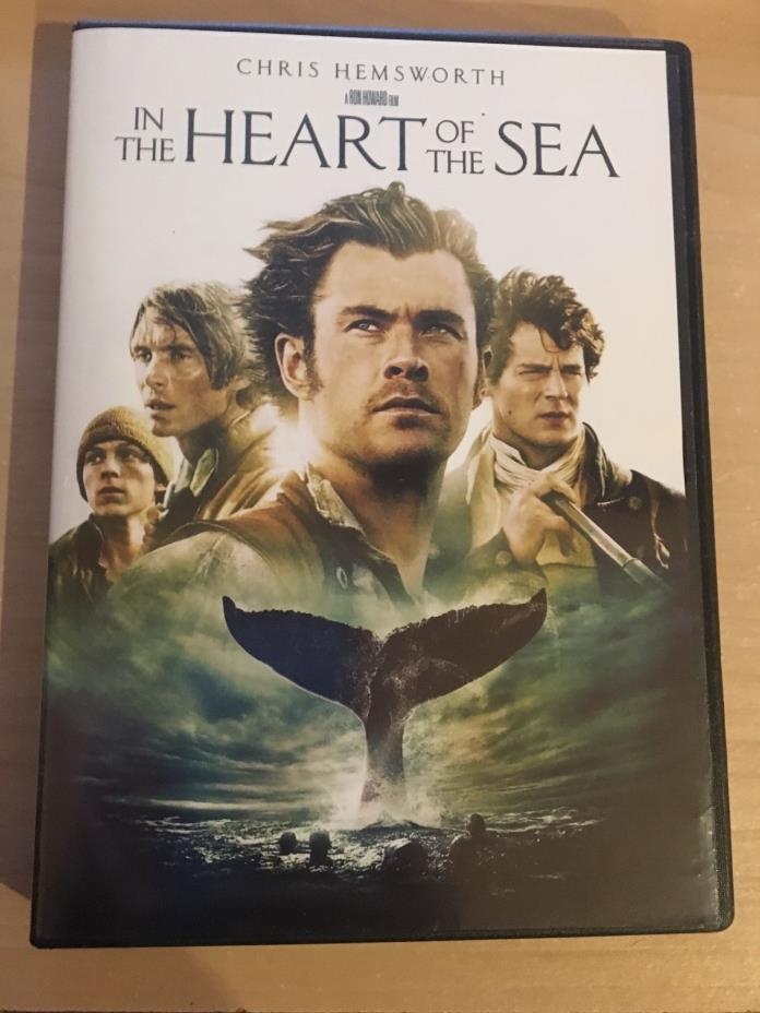 In the Heart of the Sea (DVD, 2016, Canadian)