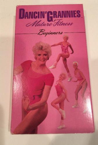 Dancin Grannies Mature Fitness Beginners Workout VHS