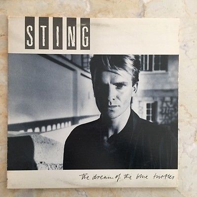 Sting Dream Of The Blue Turtles LP