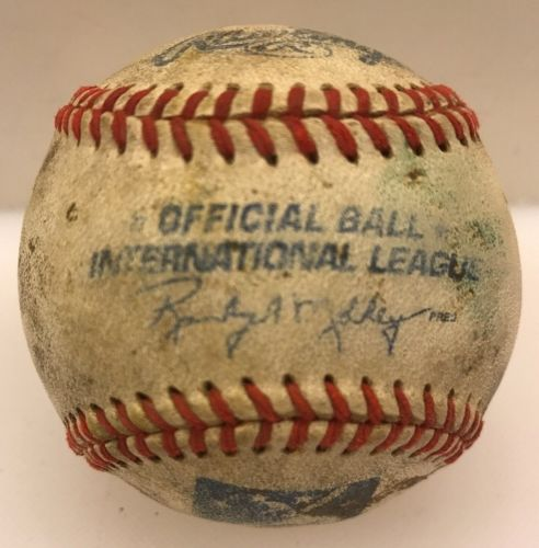 Rawlings Official International League 100 Years Game Baseball OML Minor AAA
