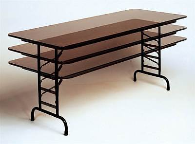 High Pressure Adjustable Height Folding Table [ID 810644]