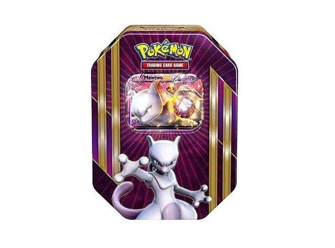 Pokemon Mewtwo EX Triple Power Tin TCG Trading Card Game
