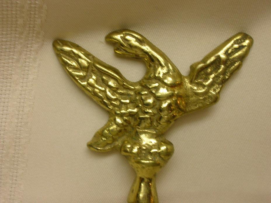 Vintage Cast Brass Eagle Letter Opener Solid