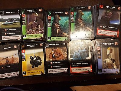 Star Wars Young Jedi CCG - Large Lot