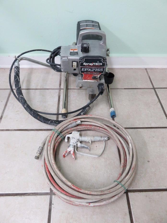 SPRAYTECH EPX2155, ELECTRIC AIRLESS PAINT SPRAYER