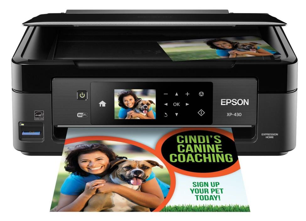 Printer Photo Color Wireless Scanner Printing Wifi Office Home New