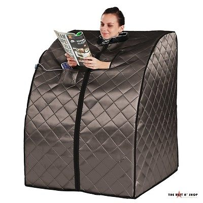 Portable Sauna Rejuvenate Foldable Chair Heating Weight Loss  Pain Relief Relax