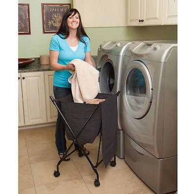 Lifter Laundry Hamper - Black