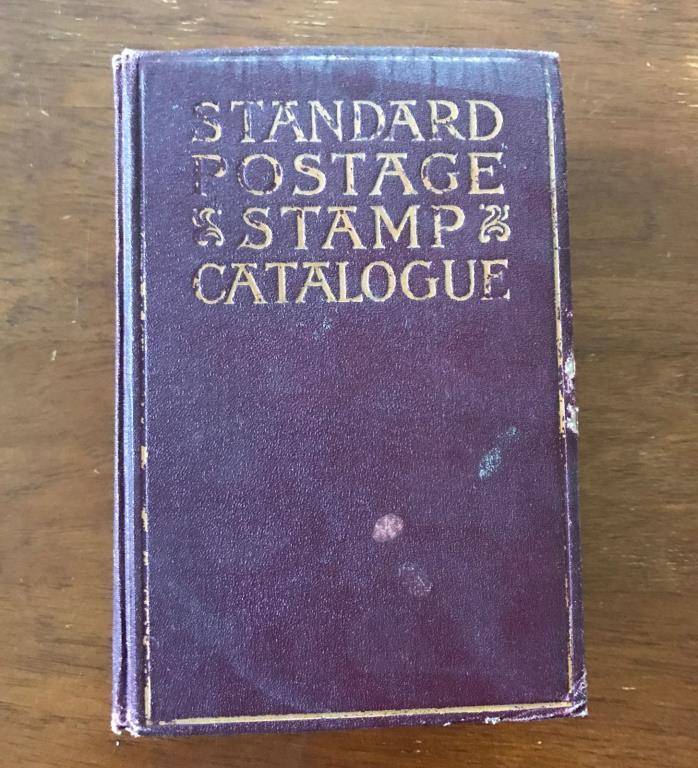 1927 Scott Standard Postage Stamp Catalogue, hardcover.