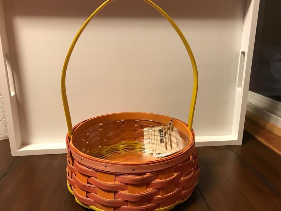 Longaberger 2015 Coral Easter Basket