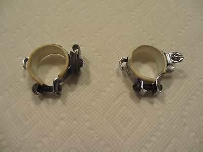 sear-vintage bicycle-gear clips(set of 2 ) chrome finish