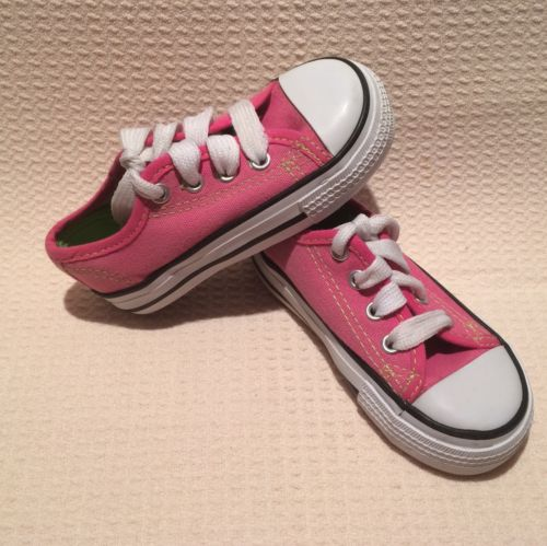 Toddler Girls Sz 6 Pink Kidget Sneakers Tennis Shoes Lace Up