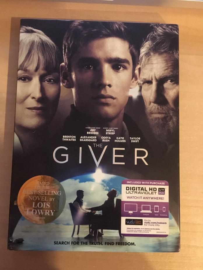 The Giver (DVD, 2014)