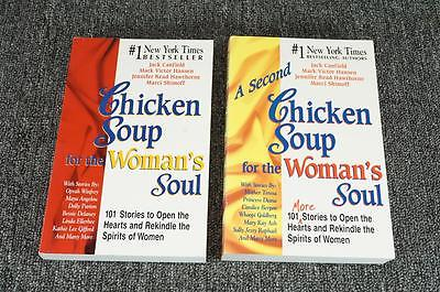 Chicken Soup For The Woman's Soul - By Jack Canfield & Victor Mark Hansen 2 Book
