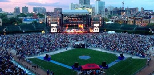 Green Day Wrigley Field GA Front Of Stage