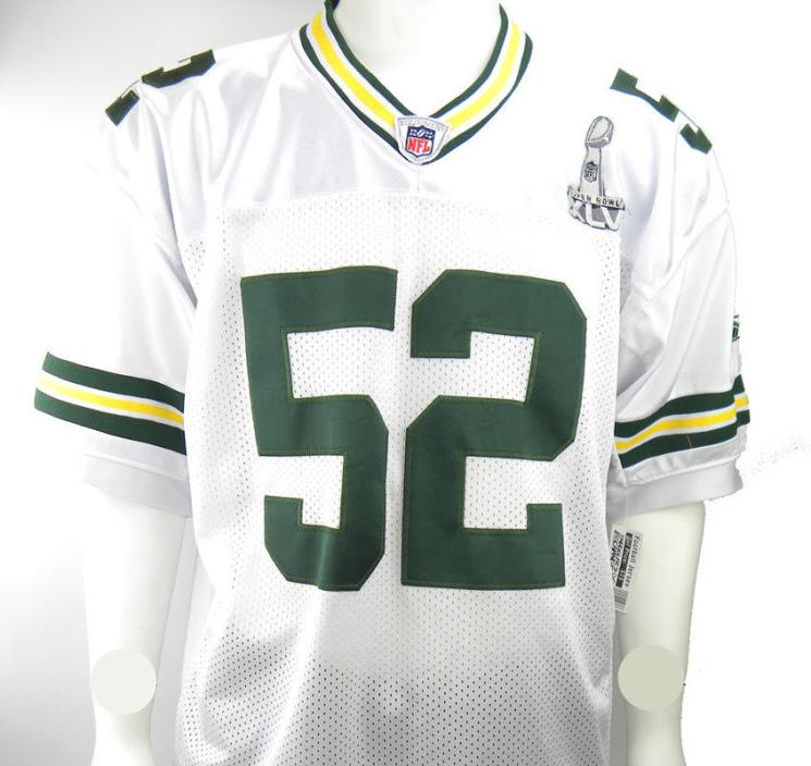 CLAY MATTHEWS, NFL Jersey, Reebok, Green Bay Packers, Size: 50