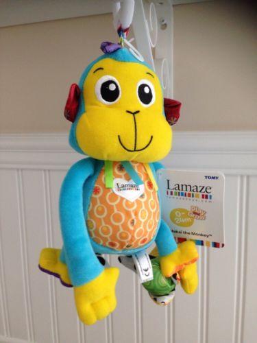 Lamaze Baby Toy Makai the Monkey ~ NEW