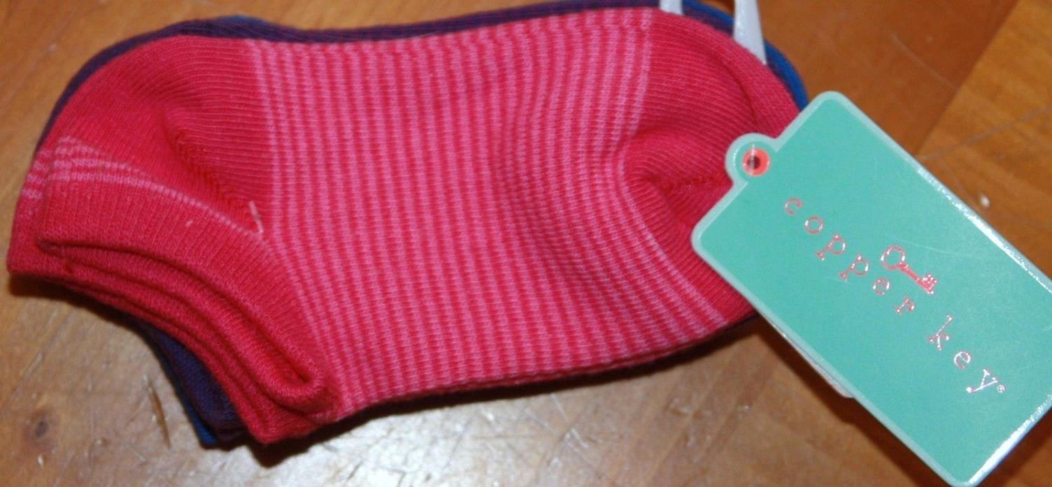 Copper Key New NWT Toddler Girls Socks Fits Shoe Sz 6-11.5 Sock Sz 6-7.5