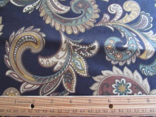 Vtg MILL CREEK Upholstery Chintz Fabric 57