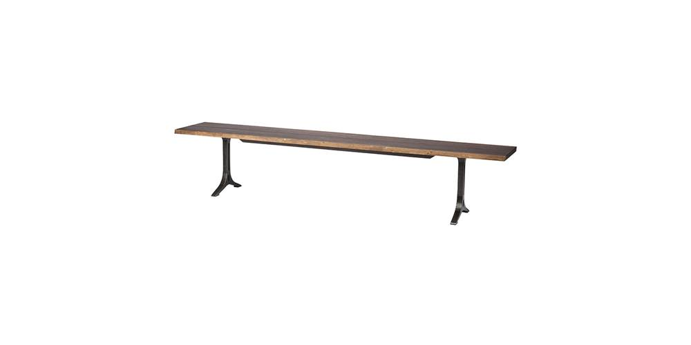 Dining Bench in Seared Finish [ID 3471712]