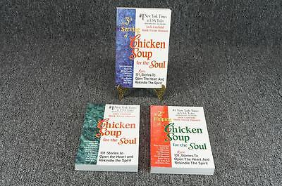 Chicken Soup For The Soul Set By Jack Canfield & Mark Victor Hansen - 3 Items