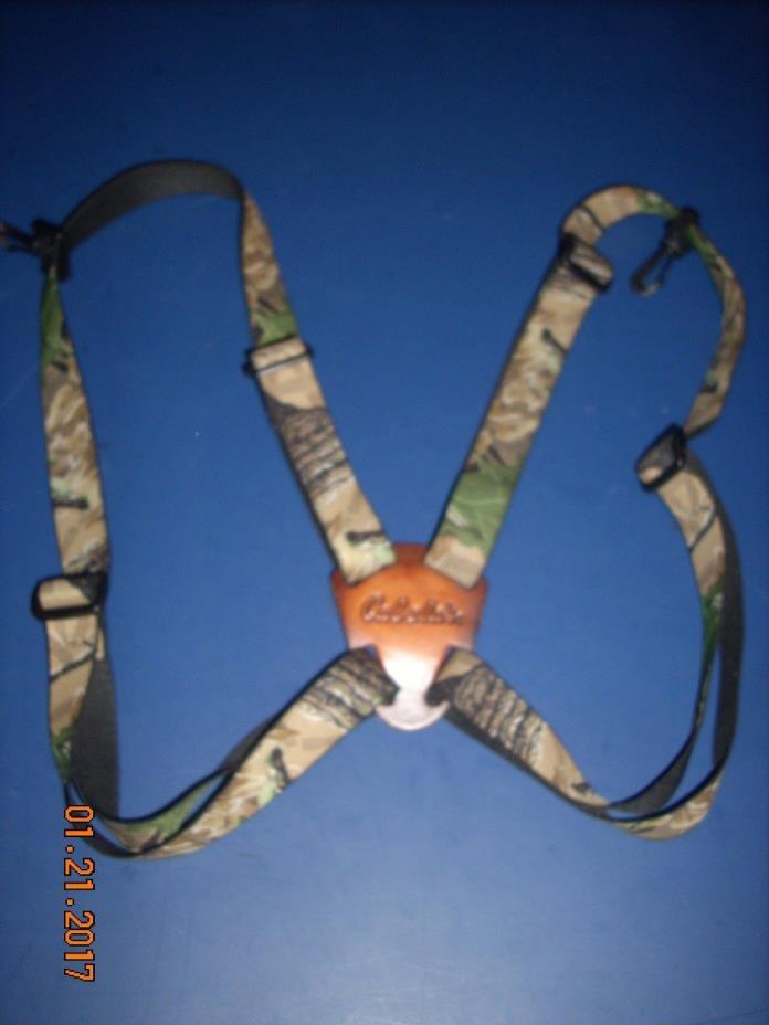 Cabelas Binocular Harness Realtree - Leupold / Zeiss / Swarovski / Bushnell comp