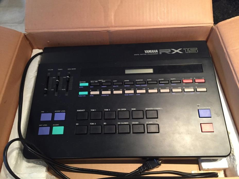 Yamaha Rx Drum Machine For Sale