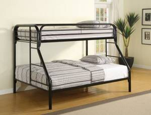 Tough ENOUGH Twin/FULL bunk bed /10 year warranty / with mattress (we deliver
