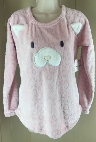 Cozy Critters PJ Top Only Small (4/6) NWT Pink Cat Or Dog
