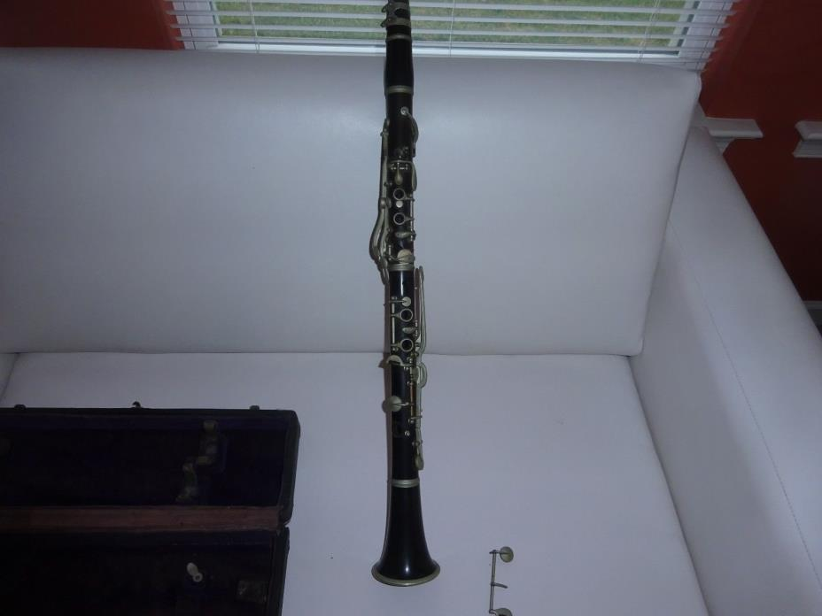 ANTIQUE WOOD ?   CLARINET - Dupont special