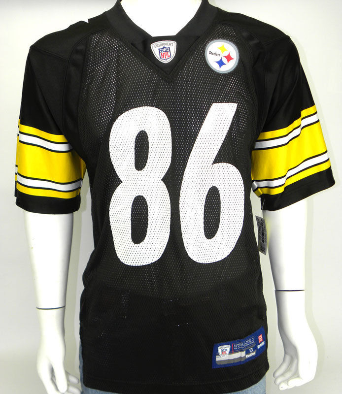 HINES WARD, NFL Jersey, Reebok, Pittsburgh Steelers, Size: SMALL S