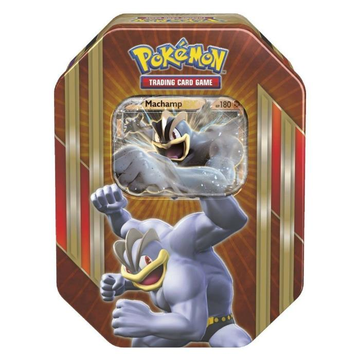 Pokemon Machamp EX Triple Power Tin TCG Trading Card Game