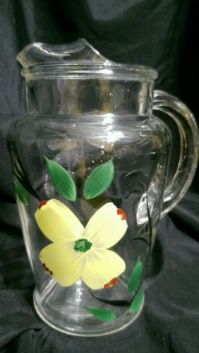 Vintage juice pitcher