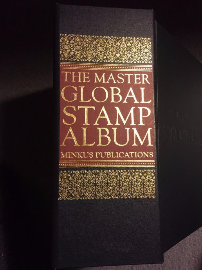 Minkus Master Global Stamp Album - Possessions in British Africa - Brand New