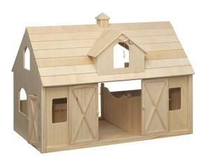 New Breyer Deluxe Wood Barnwith Cupola