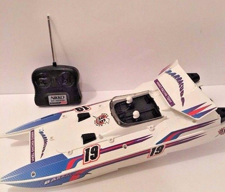 Nikko Remote Control Boat - For Sale Classifieds
