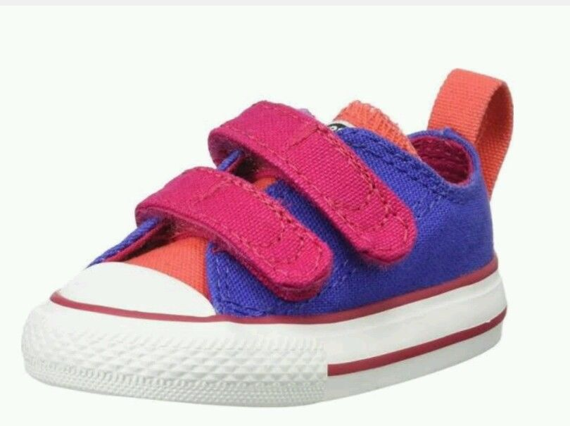 Converse All Star  747704F Canvas Shoes Infant / Toddler Size 6 periwinkle NWB