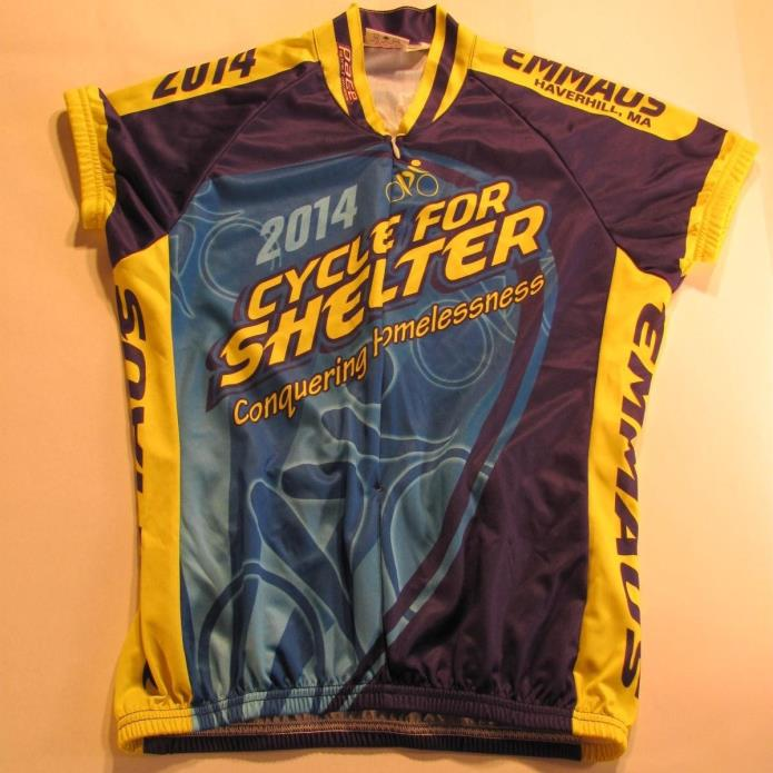 Women's Clycling Pace Sportswear Jersey Ladies Size Large Cycle For Shelter