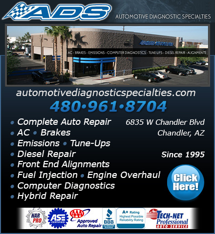 Automotive Diagnostic Specialties, Inc.